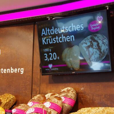 Das Coffeeboard: Digital Signage Lösungen für Bäckereien