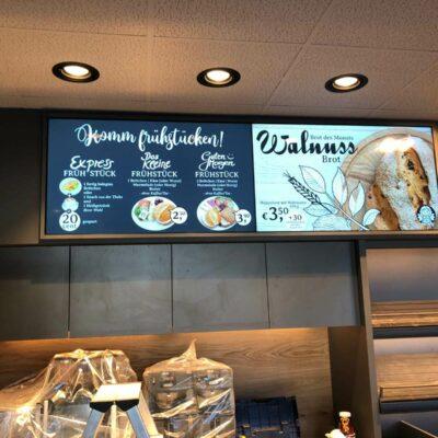 CoffeeBoard - Digital Signage für Bäckereien und Cafés